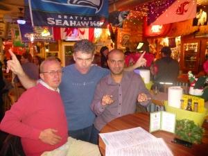 Stig, Mark, & Sanjay