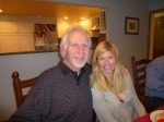 Tracy w/ex Portland Blazer Bill Walton...or is it my Father-in-law?