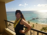 From our balcony in Waikiki
