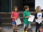 Gia gets an award
