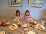 Breakfast a la Gia & Ava