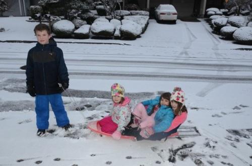 Neighbor Jake and the Girls