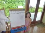 Kaya Learns the Alphabet