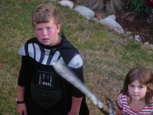 Kaya with Jake Vader