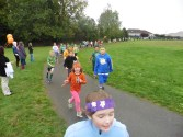 Kaya at the Fun Run