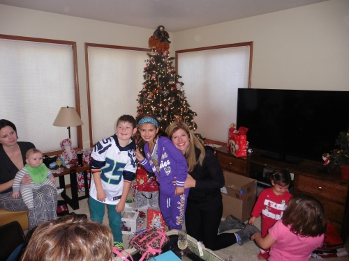 Christmas Morn at Grandy's House