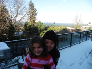 Snow with Gia!