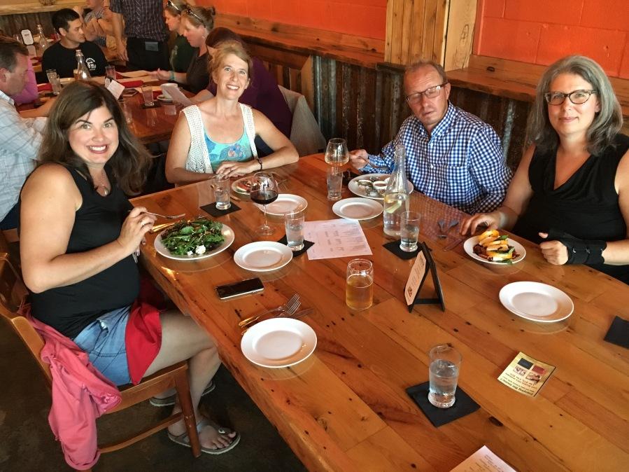 Dinner in Oak Harbor