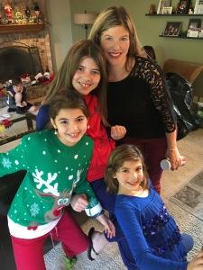 Aunt Tracy w/her nieces, Ava (11), Gia (10), Kaya (7)