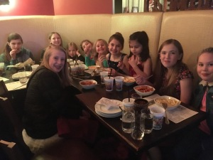 Daughters at Demetri's